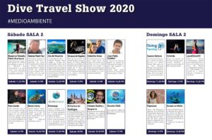 Dive Travel Show 2020 - actividades sala medioambiente