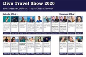 Dive Travel Show actividades mujeres empoderadas