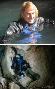 docente buceo en cuevas